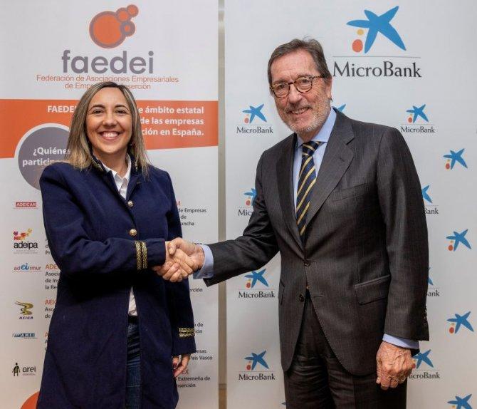 MicroBank y FAEDEI desarrollarán empresas sociales